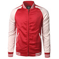 New Trend Red Baseball Jacket Men Veste Homme 2016 Mens Autumn Fashion Raglan Sleeve Slim Fit