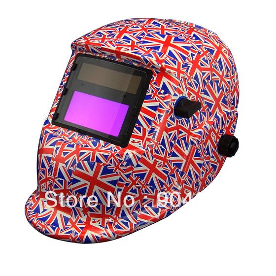 Li battery can change Solar auto darkening welding helmet/ mask for MIG TIG MAG Gas welding machine and plasma cutting machine(China (Mainland))