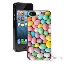 Pastel Jelly Beans Easter Protector back skins mobile cellphone cases for iphone 4/4s 5/5s 5c SE 6/6s plus ipod touch 4/5/6