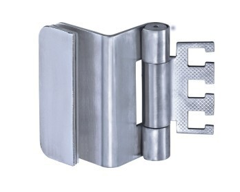 Door Hinge for glass to wooden door, Stainess steel hinge, 3D adjustable hinge(China (Mainland))