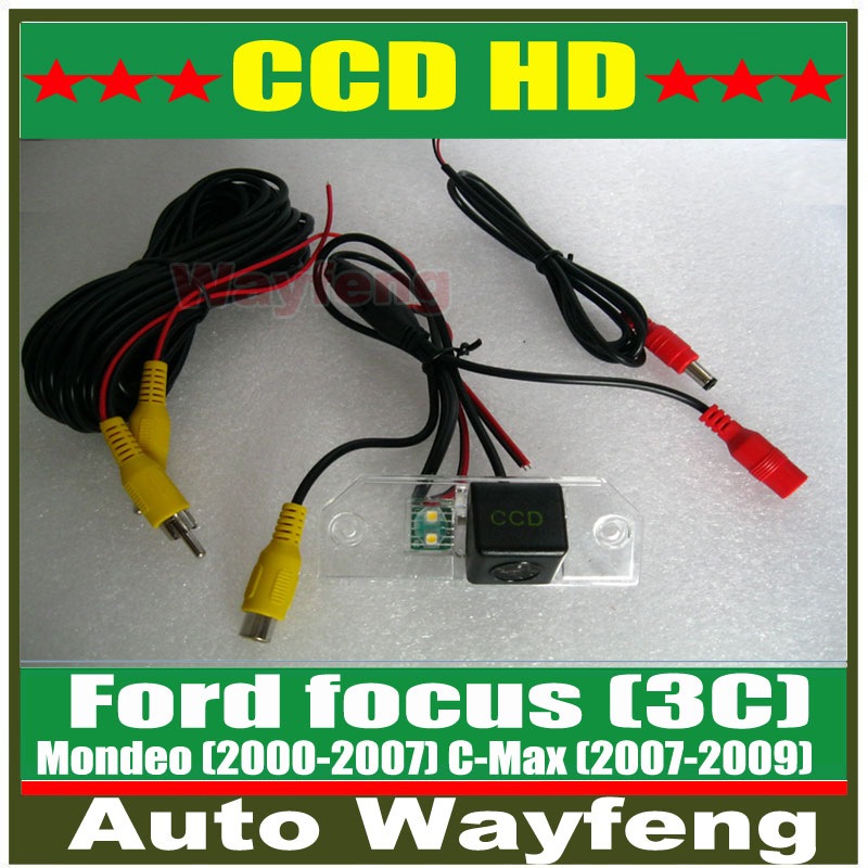HD CCD Car Rear View Camera Reverse backup Camera rearview parking for FORD FOCUS (3C)/09 FOCUS SEDAN/08 FOCUS HATCHBACK(China (Mainland))