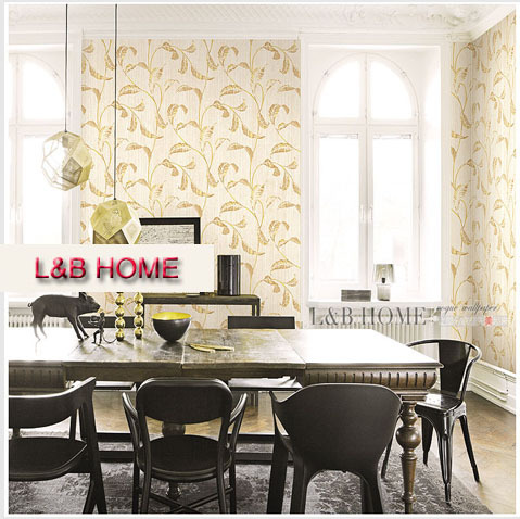 Free shipping Environmental non-woven wallpaper wallpaper contemporary and contracted style bedroom living room volume texture(China (Mainland))