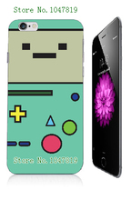 Mobile Phone Cases Retail 1pc Adventure time Protective White Hard Case For Iphone 6 6th Free Shipping
