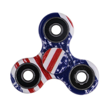 Buy American Flag Fidget Toy ABS Plastic EDC Hand Spinner Autism ADHD Stress Relief Toys New Finger Spinner for $1.97 in AliExpress store