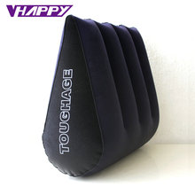 TOUGHAGE Sex Pillow Inflatable Sex Furniture Triangle Magic Wedge Pillow Cushion Erotic Products Adult Game Sex Toys for Couples(China (Mainland))