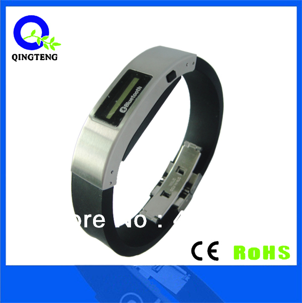 bluetooth bracelet wristwatch with LED display