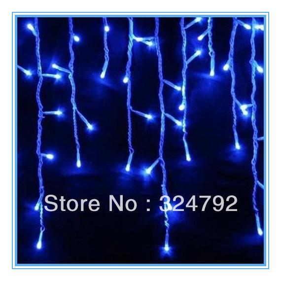 Xmas lights 100 LED snowing icicle Christmas wedding party garden lamps - SHEN ZHEN ROYAL TRADE CO.,LTD store