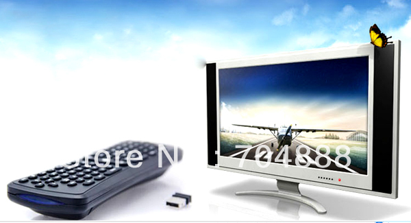 Free shipping 2.4G Air Mouse fly mouse  2.4G wireless keyboard from factory in shenzhen China