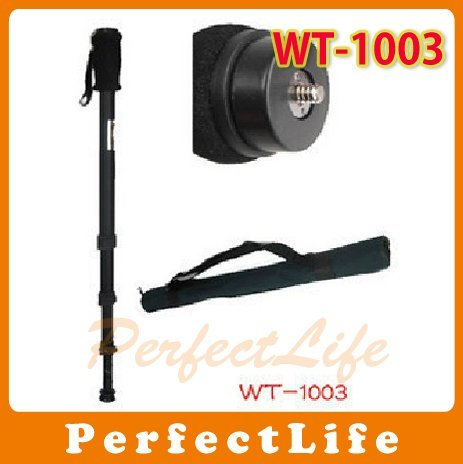 Quick Aluminium ballhead monopod WT-1003 For Digital Camera 171cm, max load 3kg A011BA006