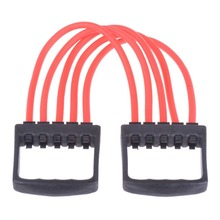 Indoor Sports Chest Expander Puller Training Exercise Bands Fitness Resistance Cable Band Yoga Free Shipping