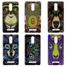 animal funda phone capa for xiaomi redmi note3 cover cute Case for xiaomi redmi note 3 colorful printing plastic hard Case coque