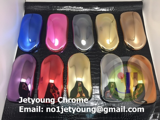 JETYOUNG Customized service-Spray chrome plating service-sample service-Spray chrome plating factory