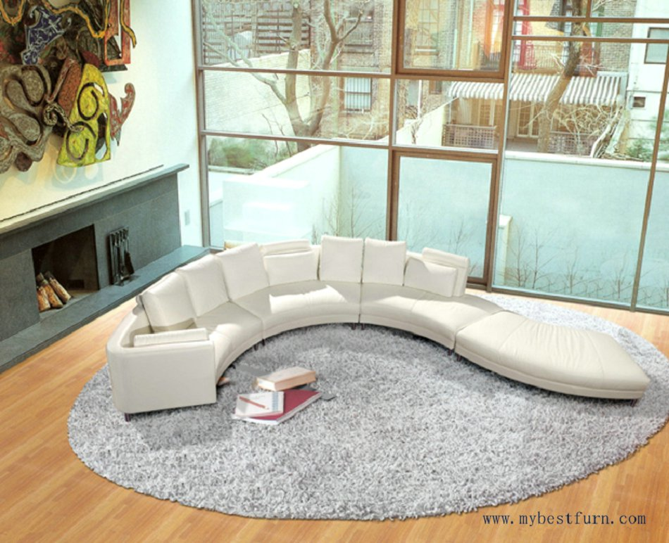 Nice Luxury Villa Sofa Set Top leaher Settee flow water design Sofa Set Hot Sale Models for Living Room House Furniture Sofa(China (Mainland))