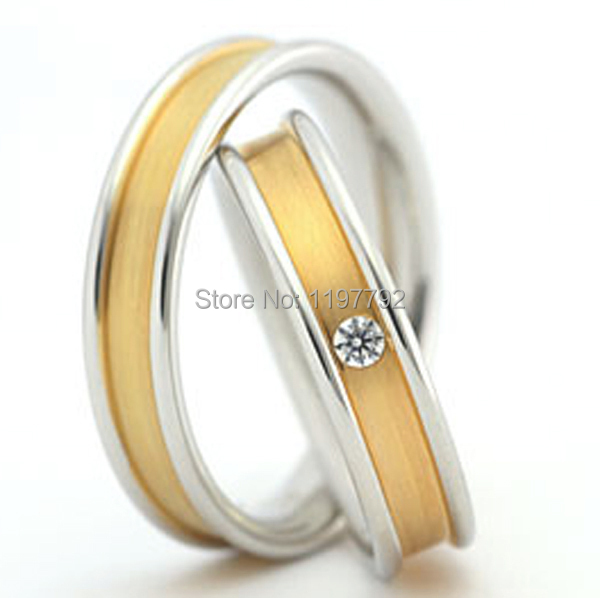 High end custom made classic 18k gold plated unique non for Non traditional wedding rings for women