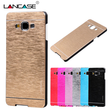 MOTOMO Brushed Aluminum Case Samsung A3 2016 PC Phone Cases Galaxy A5 A7 J3 J5 Protective Cover - REDSTORE INT'L TRADING CO LTD store