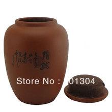 Sale promotion New Purple Clay Zisha Sealed Jar Pot Kongfu Tea Set Tea Candy Pot Box