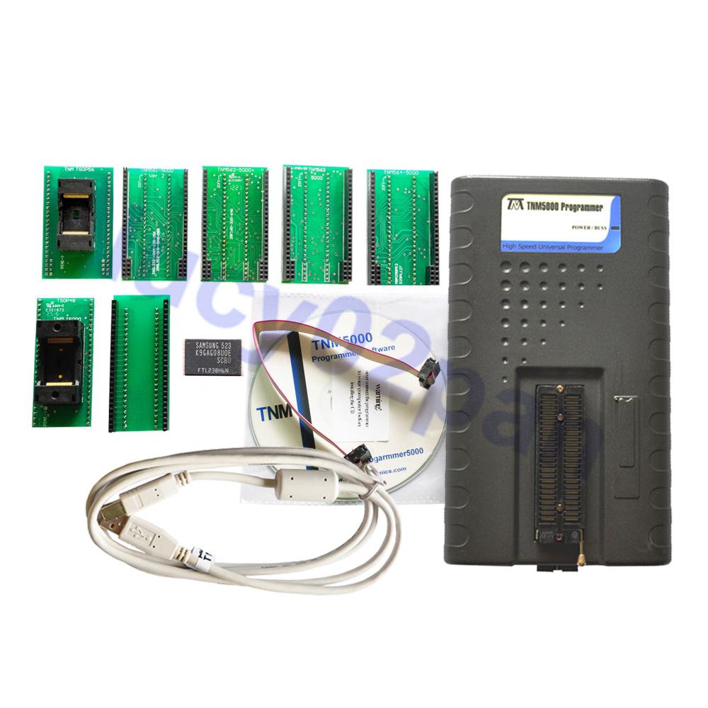 TNM5000 Atmel isp programmer,Eprom USB Programmer avr programming+TSOP48 ZIF socket+TSOP56 adapter kit,IC tester,SPI Programmer(China (Mainland))