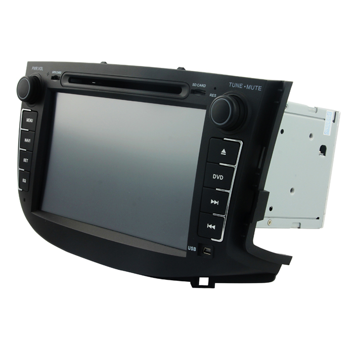 """quad core car dvd player Bluetooth RDS FM AM 7"""" 2din in dash TFT with 3g gps navigation radio tuner bt map for Lifan X60(China (Mainland))"""