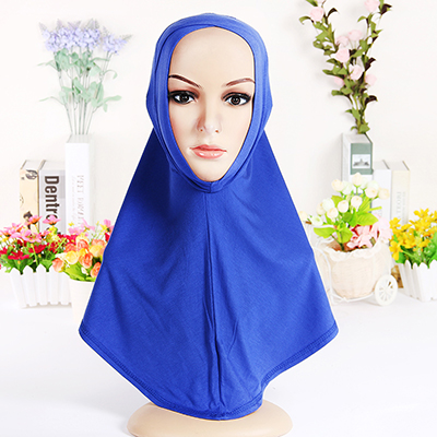 2016 tide headcloth pure color baotou Muslim headdress fashion lady(China (Mainland))