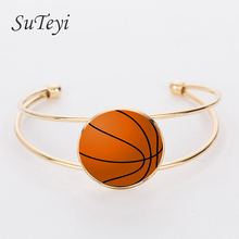 Buy SUTEYI 2017 Fashion football bracelet classic black white football handmade ball fans jewelry sports events gifts team for $1.31 in AliExpress store