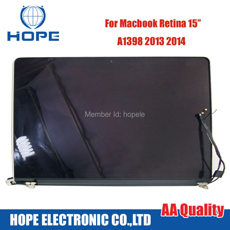 """Genuine For Apple MacBook Pro 15"""" A1398 Late 2013 - Mid 2014 Retina Full LCD Screen Assembly(China (Mainland))"""