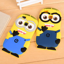 Huawei G9 P9 lite Cartoon Soft case,Minions Minnie Winnie Despicable 3D Silicon back cover phone Case - iCase-Electronics store