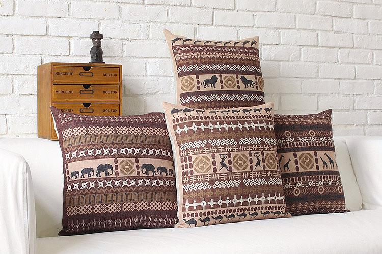 online kaufen gro handel afrikanischen stil kissen aus china afrikanischen stil kissen. Black Bedroom Furniture Sets. Home Design Ideas