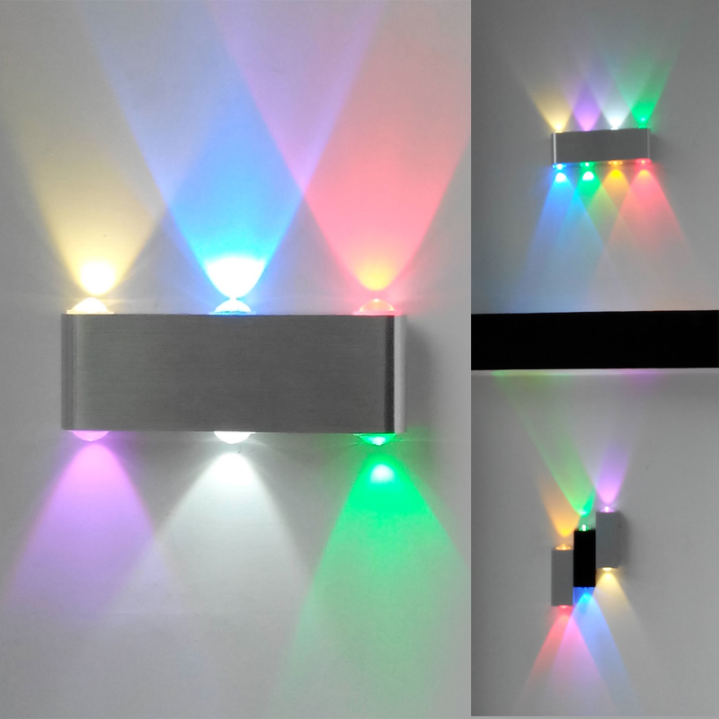 Colorful led wall lamp modern brief beijingqiang lamps
