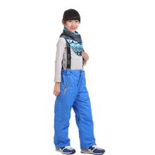 Dropshipping 2015 new arrival colorful winter snow cotton kids pants outdoor windproof waterproof ski pants ski trousers boys(China (Mainland))