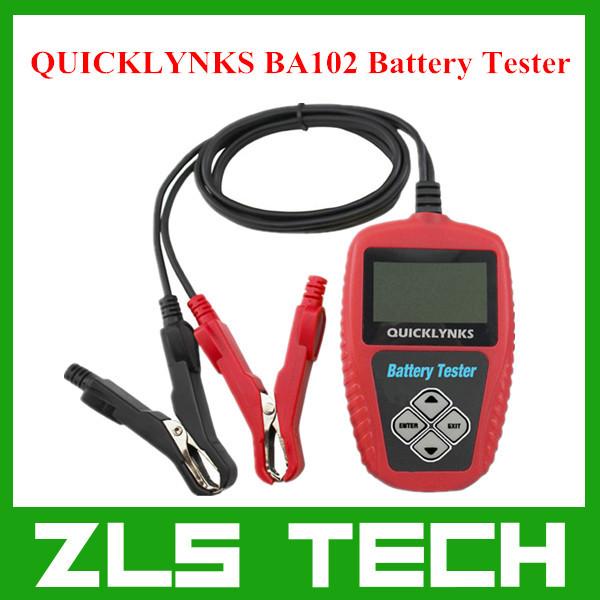 QUICKLYNKS BA102 Motorcycle Battery Tester Free Shipping(China (Mainland))