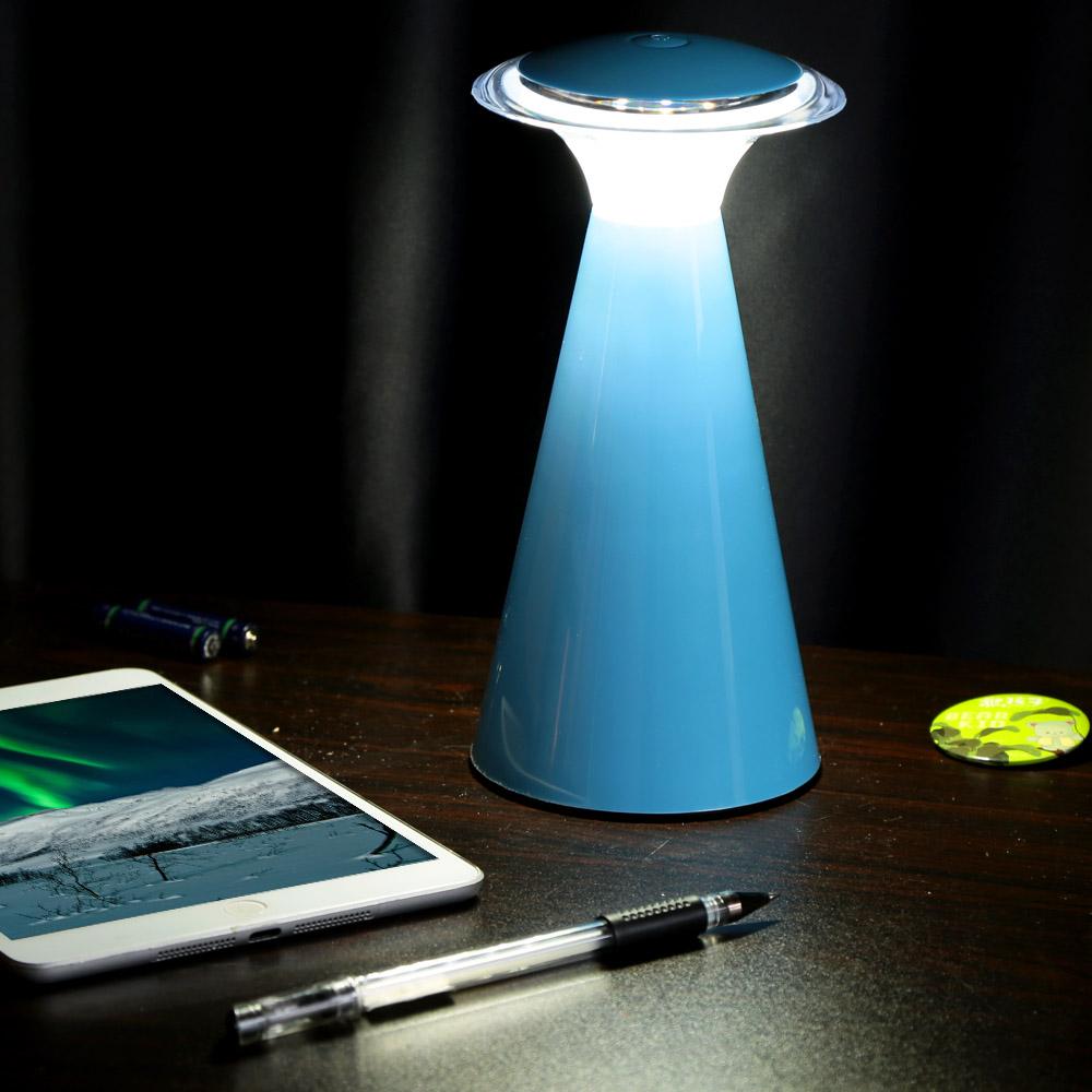 New Novelty Mushroom Angel Shaped Led Night Light Touch Sensor Desk Table LED Lamp Kids Children Bedroom Decor Lights Lampada(China (Mainland))