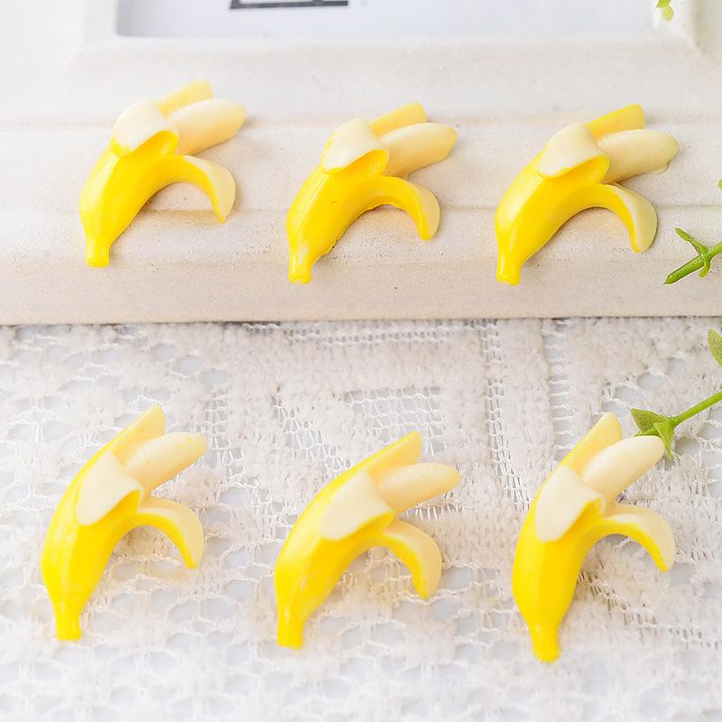 2016 New Arrival Unisex Fashion Headbands New Resin Simulation Banana Children Hair Clip Diy Material Phone Beauty Cute(China (Mainland))