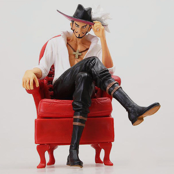 One Piece Hawk Eyes Dracule Mihawk Creator X Creator Banpresto Anime PVC Figure Shichibukai Seven Warlords collection model(China (Mainland))