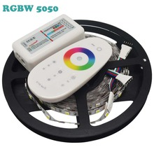 Buy DC12V RGBW 5050 LED Strip 5M/roll 300Leds Flexible Led Light 60LED/m, RGBW RGBWW 5050 LED Strip + 2.4G RGBW LED Controller for $15.88 in AliExpress store