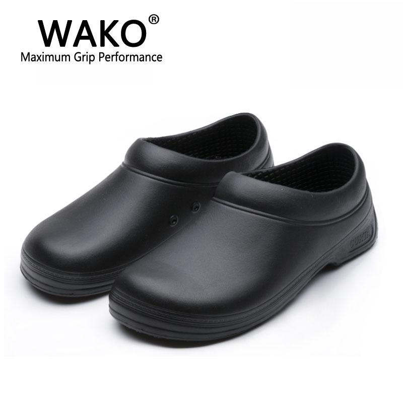 sepatulucu: black non slip work shoes images