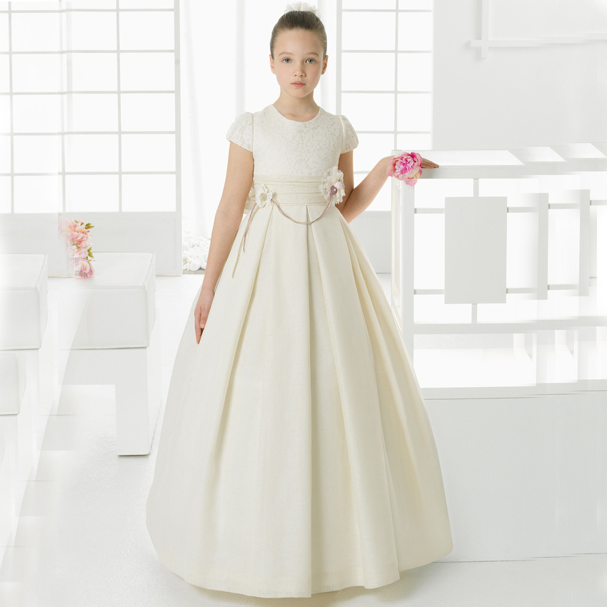 Compare Prices on Communion Girls Ivory Dress- Online Shopping/Buy ...