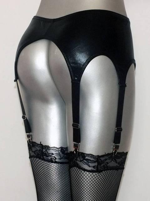 Женщины сексуальное женское белье 6 сильный я могу ремень блестящей жидкости мокрый ...