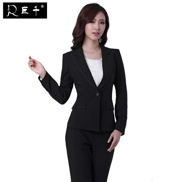 Creative Women39s Pants Suit Size M Black  Top Fashion Web
