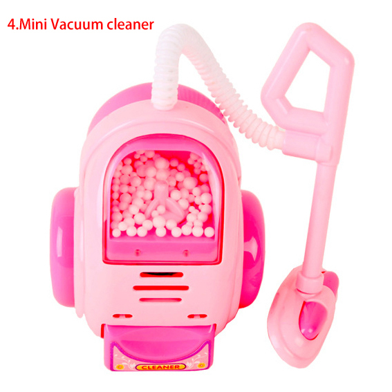 B0100-4 In box chilren girl Child toy set mini appliances sooktops series simulation mini home play toy Mini Vacuum cleaner 1pcs(China (Mainland))