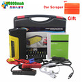 50800mAh High capacity car battery charger pack jump starter auto emergency power bank for starting car