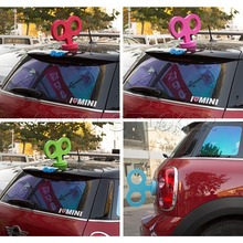 1000pcs/lot Wholesale Cool Clockwork Car Sticker For Car Decoration Clockwork Key For All Cars 3D Creative Stickers(China (Mainland))