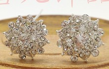 10pcs Fashion Rhinestone Bridal Hairpin Vintage Hair Pins Clip Crystal Hair Comb Elegant Brides Hair Jewelry Accessories H-356(China (Mainland))