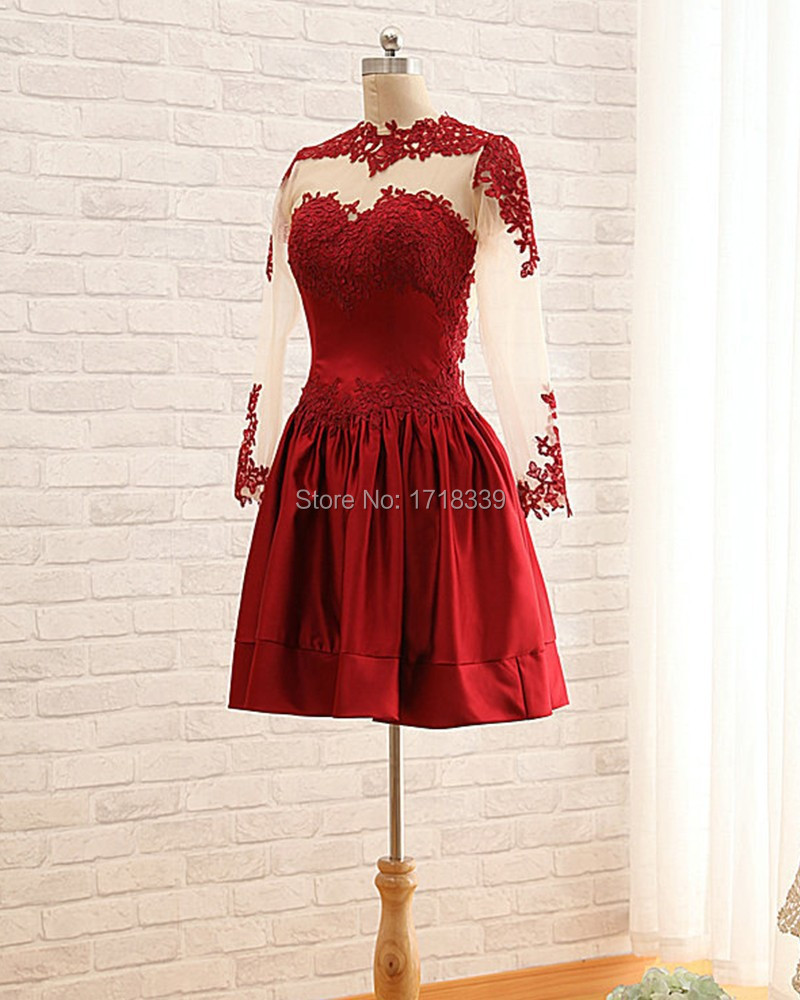 Maroon Homecoming Dresses