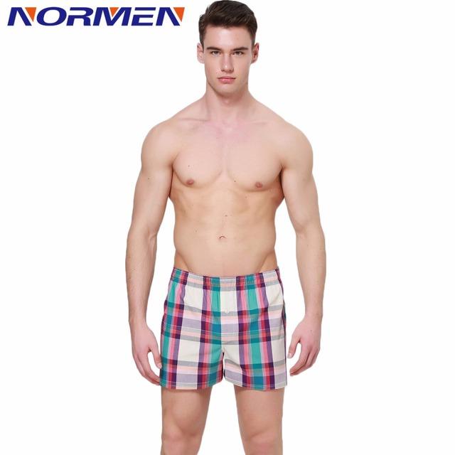 2016 новый стрелками хлопка плед шорты для мужчины спят днища марка одежды отвесные ...