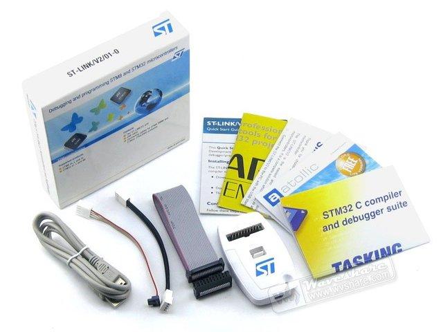 Original ST-Link V2 Stlink St Link V2 Stlink STM32 STM8  MCU USB JTAG In-circuit Debugger/Programmer/Emulator Freeshipping