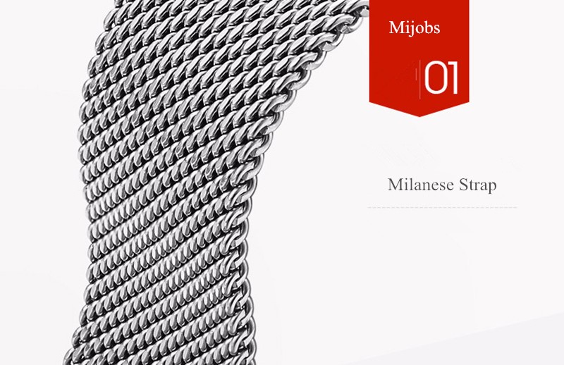 image for For Xiaomi Mi Band 2 Metal Strap Screwless Stainless Steel Bracelet Fo