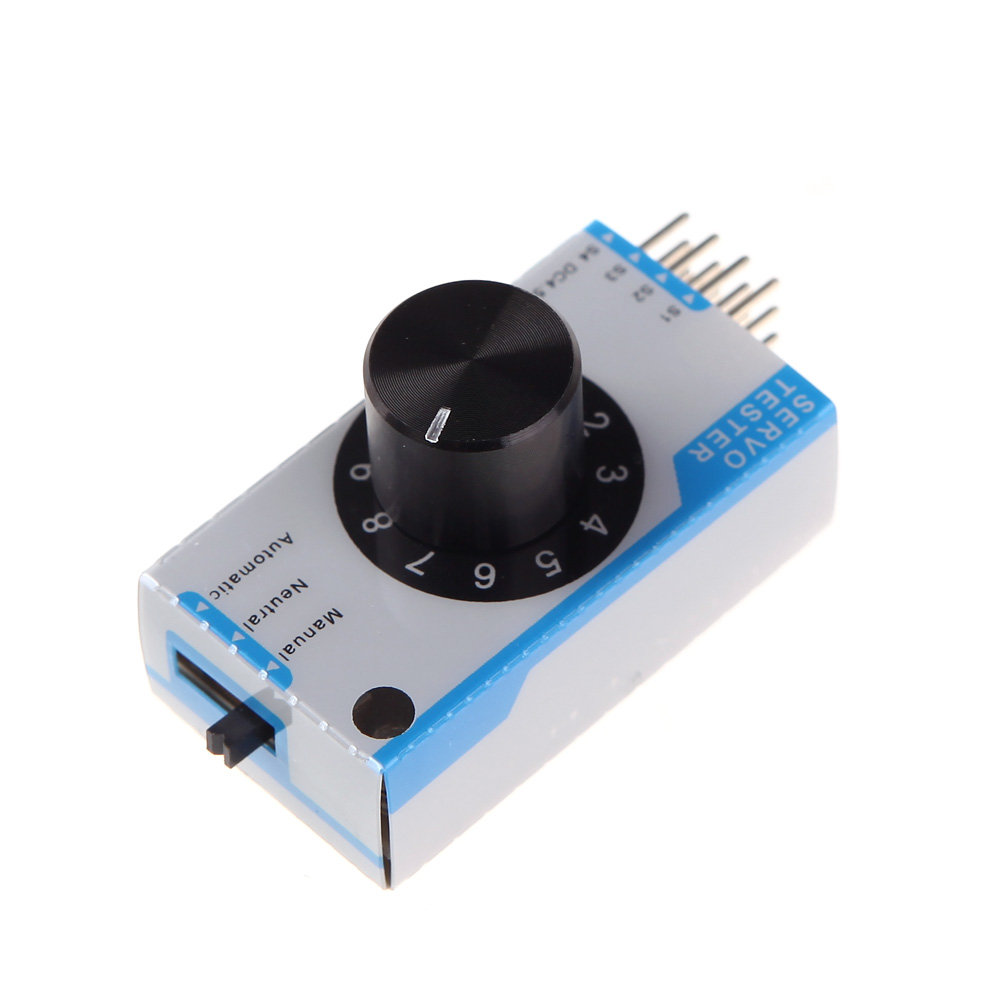 GoolRC Mini 3-channel Servo Tester Servo Consistency Master Tester for RC Helicopter Airplane Car(China (Mainland))