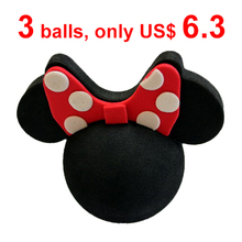 Mickey Minnie Mouse Antenna Ball Aerial Topper Balls Toppers Cartoon Car Roof Decoration For Cars Free Shipping(China (Mainland))