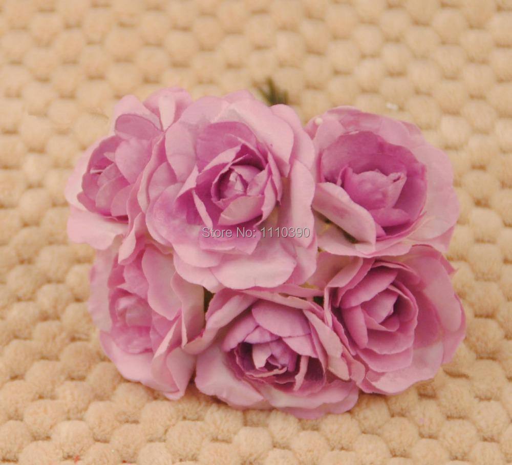 3 cm bricolage papier de soie fleurs bouquets fleurs artificielles vraie touche roses pour de. Black Bedroom Furniture Sets. Home Design Ideas