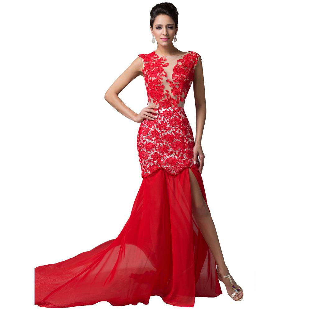 Cheap Red Party Dresses